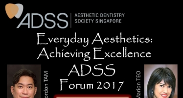Dr Isaac Chong was invited by the Aesthetic Dentistry Society of Singapore to give a lecture during their Annual Dental Forum